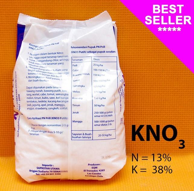 Kandungan Nutrisi Pupuk KNO3