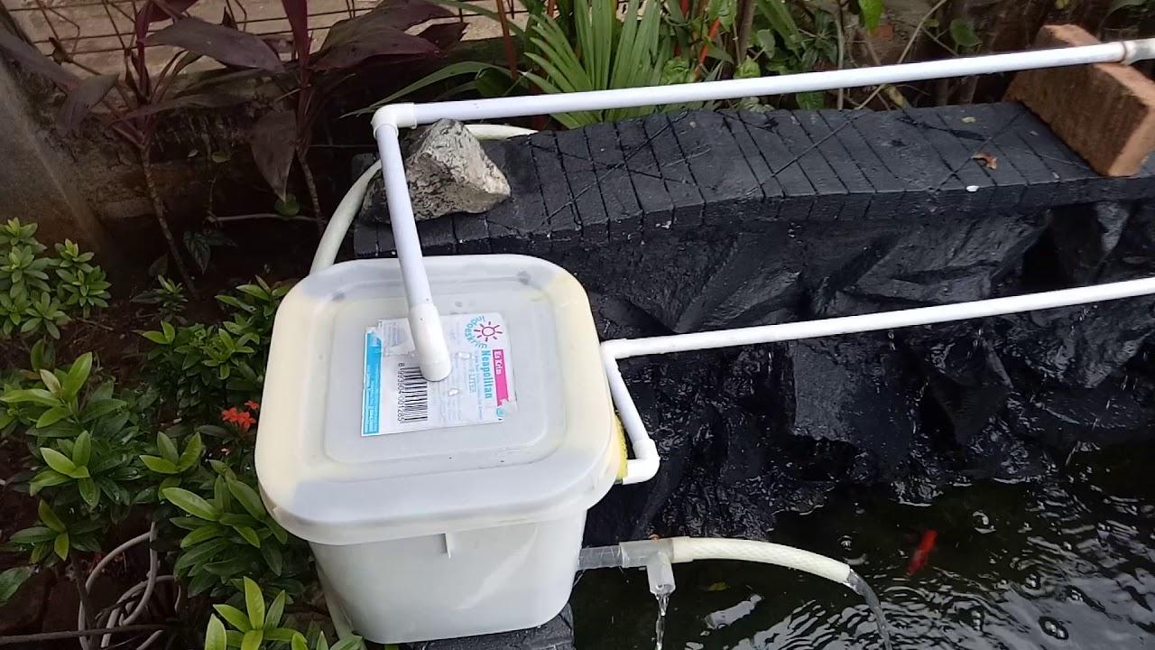 Instalasi Filter Kolam Ikan