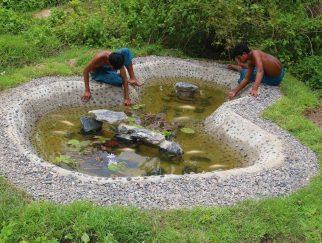 Pembuatan Kolam